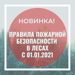 Правила пожарной безопасности в лесах. Утверждены Постановлением Правительства РФ от 07.10.2020 № 1614